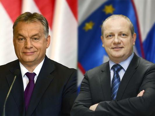 Orban se je Zidanšku zahvalil za podporo