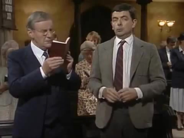 Mr. Bean v cerkvi