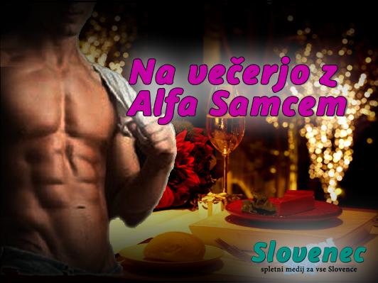 Nagradna igra: Romantična večerja z Alfa Samcem