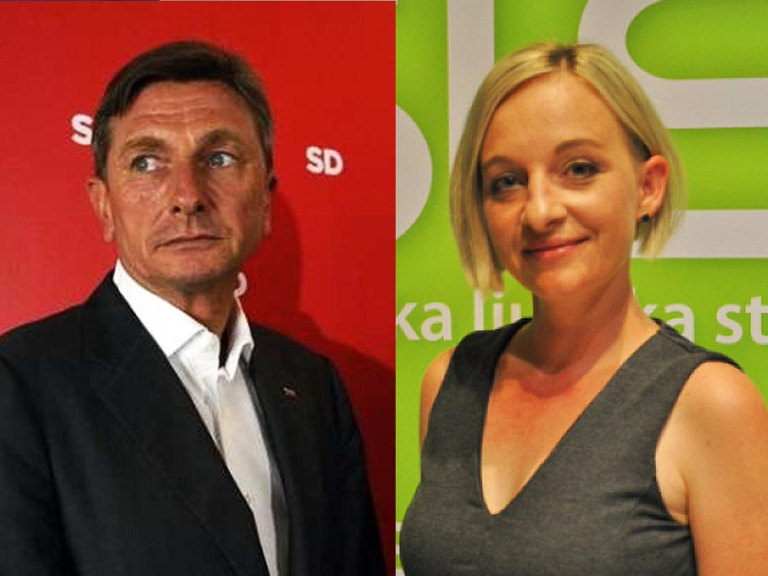 V drugem krogu Borut Pahor, dobro kaže Suzani Lari Krause
