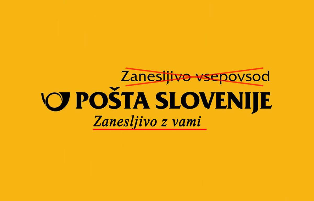 Pošta Slovenije ne bo več povsod, ostaja pa z nami