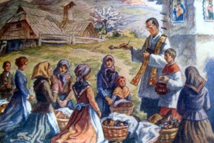Slovenski ljudski običaji: Cvetna nedelja, velika noč in binkošti