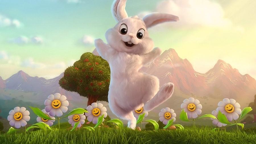 Velikonočni zajček nima popolnoma nič z veliko nočjo v slovenskem prostoru.