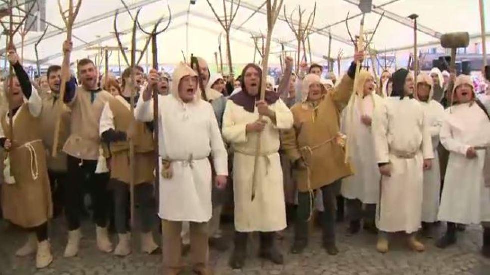 Jelševar: Pred 500 leti fevdalci niso upali tako poniževati kmetov, kot jih danes Židan