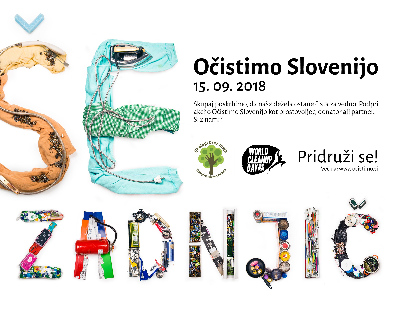 Očistimo Sloveniji – ŠE ZADNJIČ!