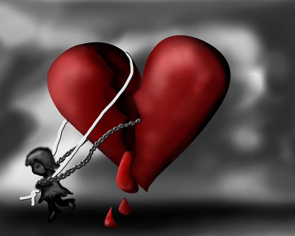 картинки разбитое сердце со слезами модульный формат листов