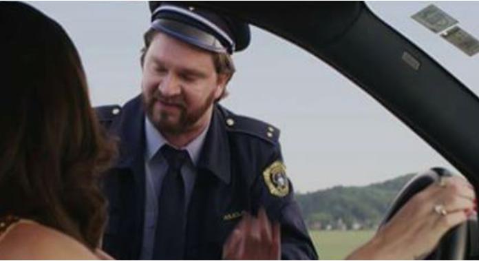 Šala dneva: Policist