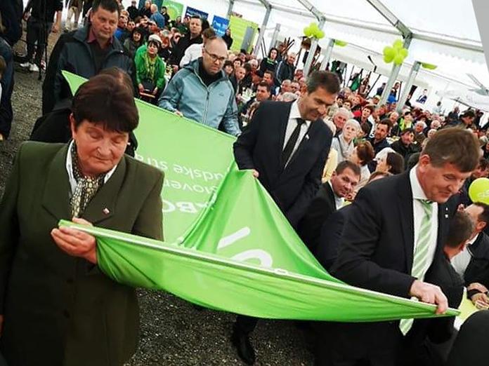 Franc Bogovič v Krškem gostil največje politično zborovanje – 22. tradicionalni tabor SLS