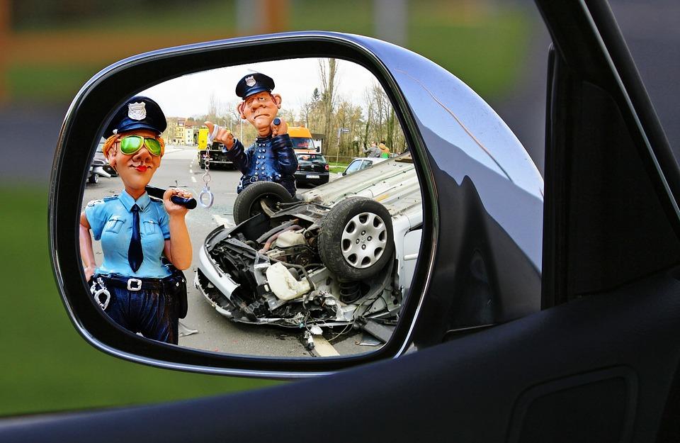 Šala dneva: Policista prva na krajo nesreče