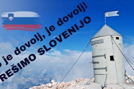 Slovenija se je prebudila – na vseslovenskem shodu Rešimo Slovenijo pričakujejo več tisoč ljudi