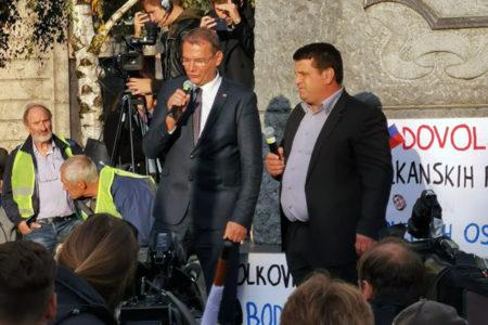 Marjan Podobnik: Če bo potrebno, bomo za zaščito ustavne ureditve v četrtek, 17.10. blokirali vstope v Ljubljano