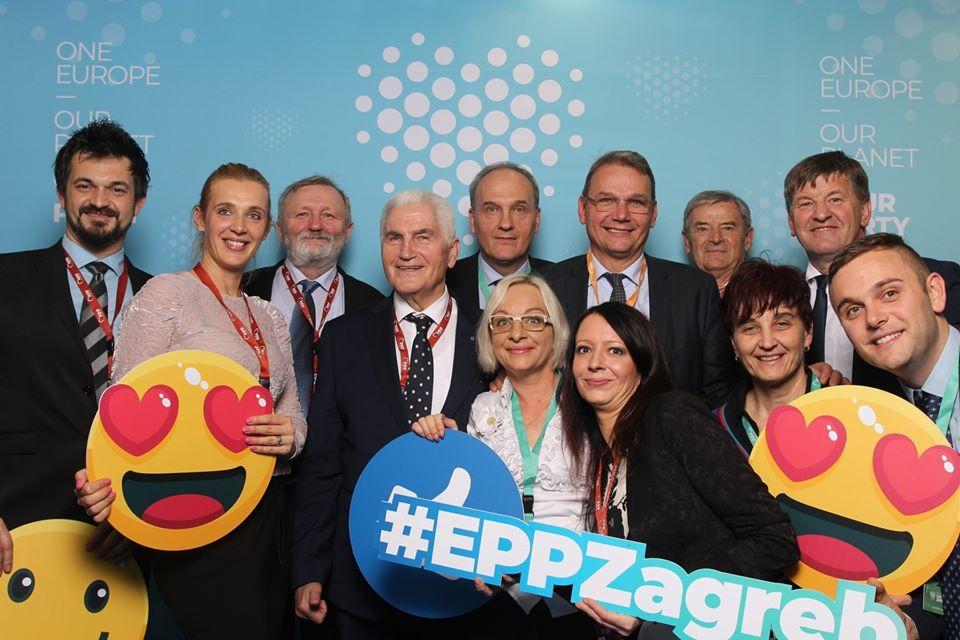 Po kongresu Evropske ljudske stranke