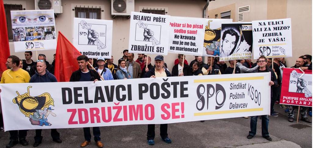 Poštarji stavkajo zaradi neizpolnjenih obljub in nevzdržnega stanja v Pošti Slovenije