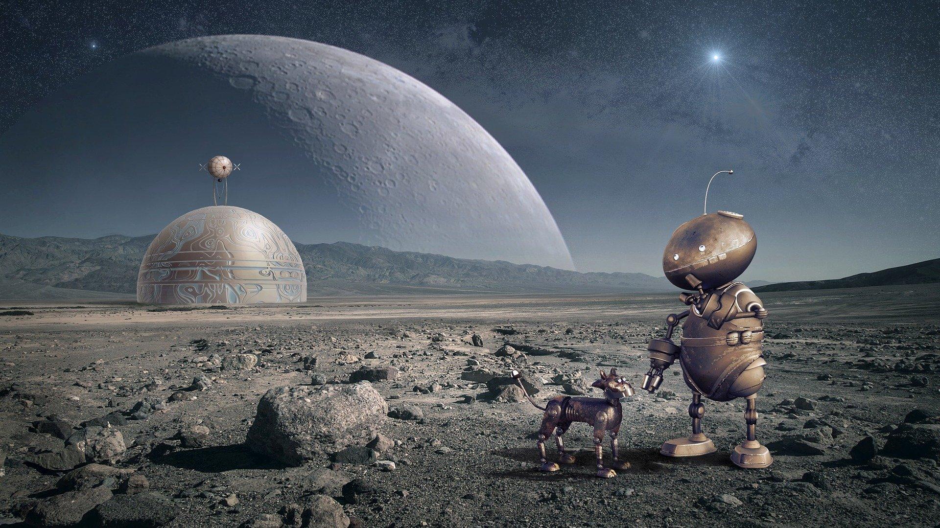 Kje bomo živeli, če Zemlja postane neprimerna? Luna, Mars ali vesoljska plovila?