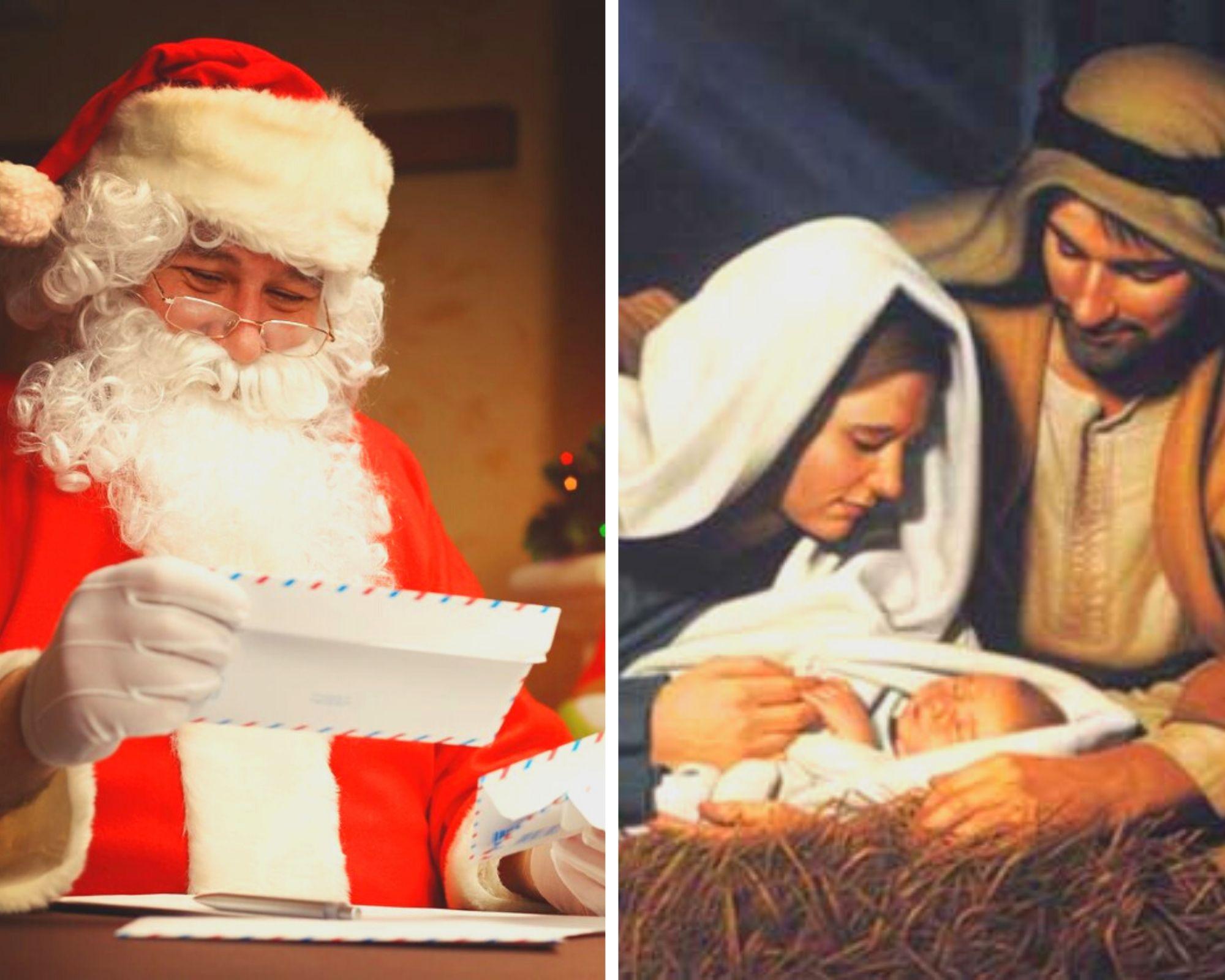 Božič – praznik, ko je bog človeku najbližji