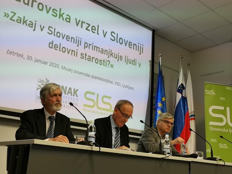 Kadrovska vrzel v Sloveniji – »Zakaj v Sloveniji primanjkuje ljudi v delovni starosti?«