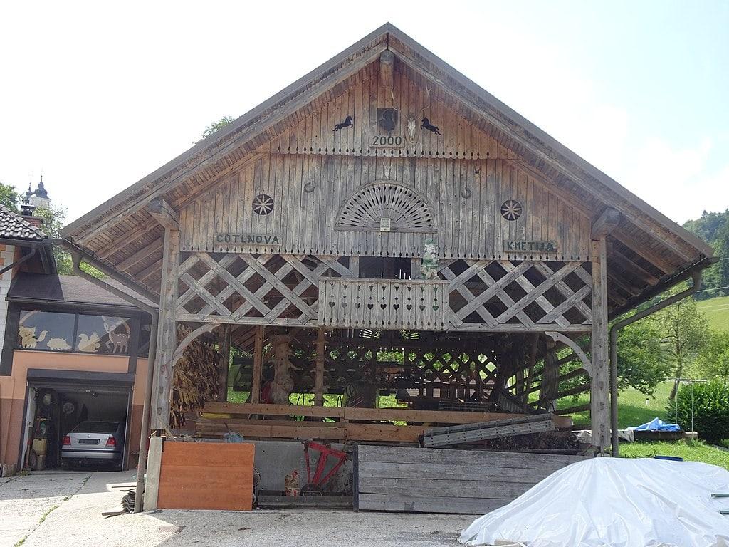 Kozolec je ena najbolj prepoznavnih lastnosti Slovenije