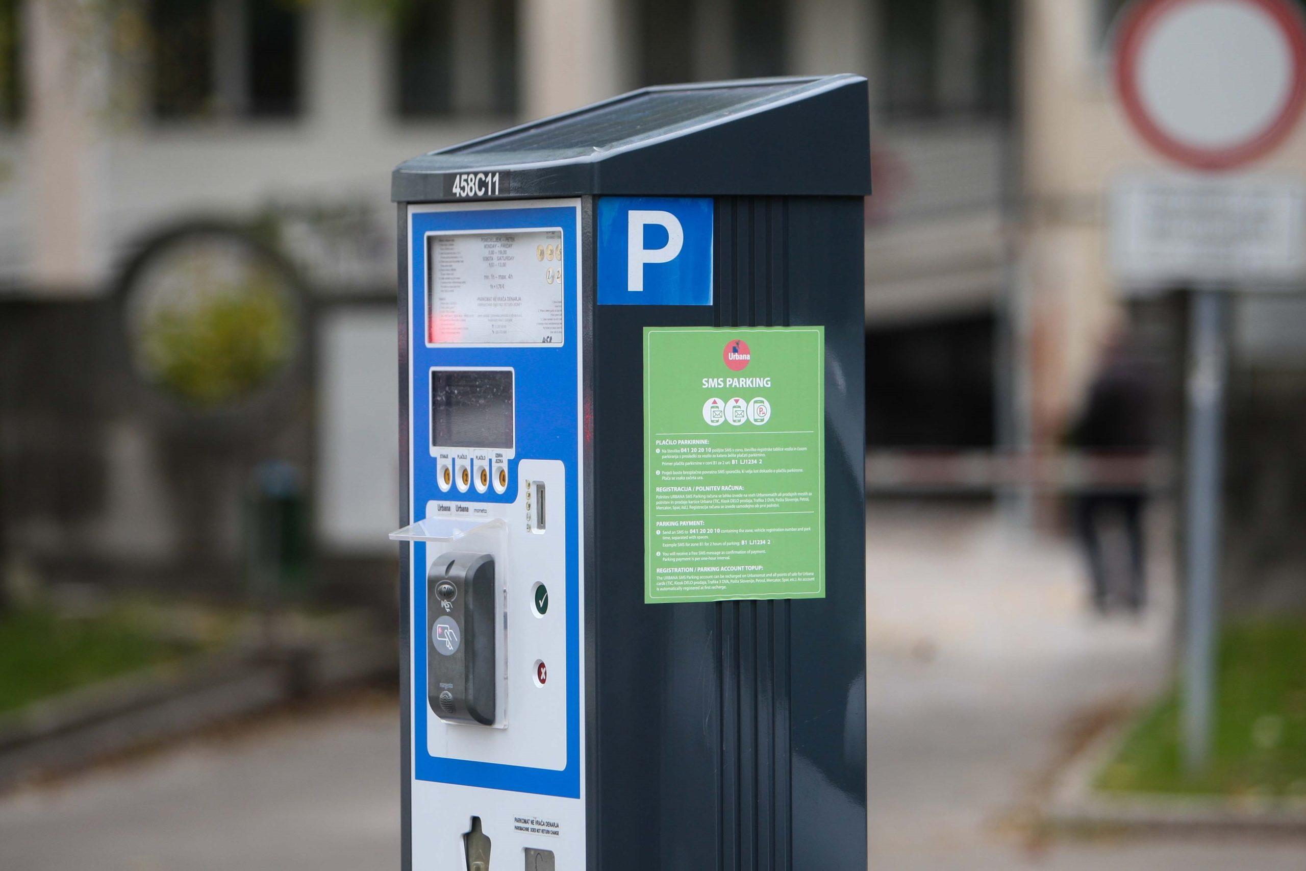 Ljubljanski parkomati ropajo uporabnike parkirišč