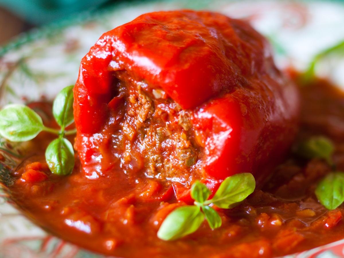 Iz domače kuhinja: Polnjena paprika