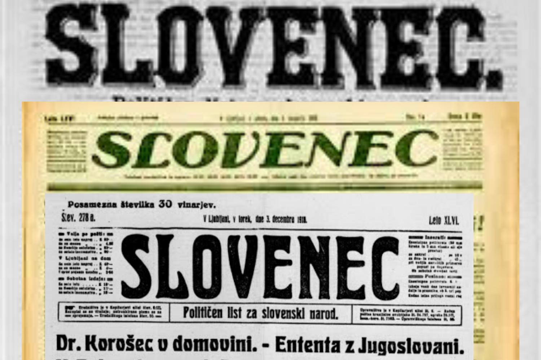 Pred 100 leti v Slovencu o družbenem dogajanju