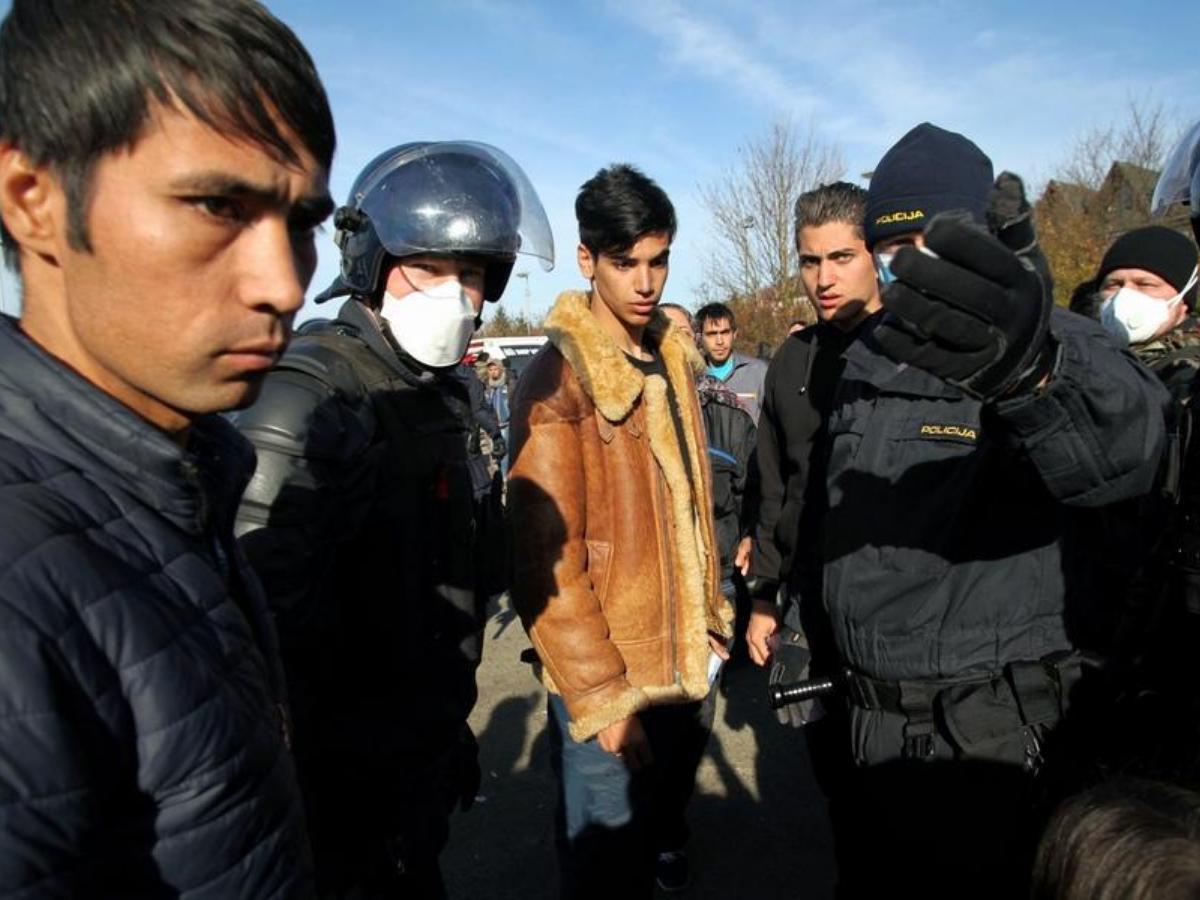 Ali so ilegalni pribežniki tudi prenašalci covida-19?