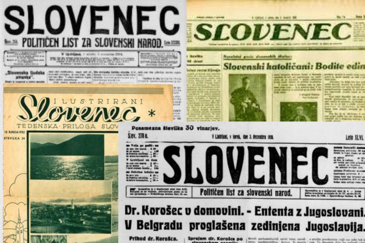 Pred 100 leti v Slovencu o koroškem plebiscitu, medstrankarskih razsodiščih, stiski ribniške obrti in stanovanjski stiski