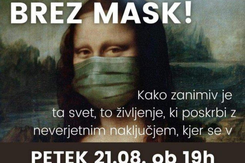 V trgovine brez zaščitnih mask?!