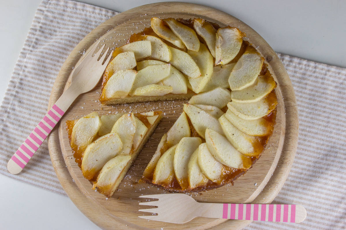 Jabolčna pita.
