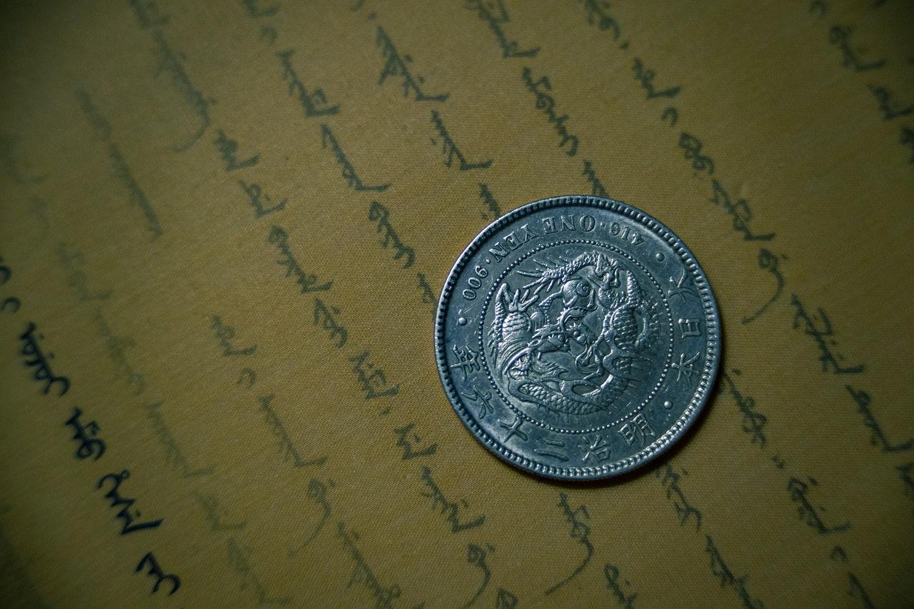 Srebro v zbirateljskih kovancih.