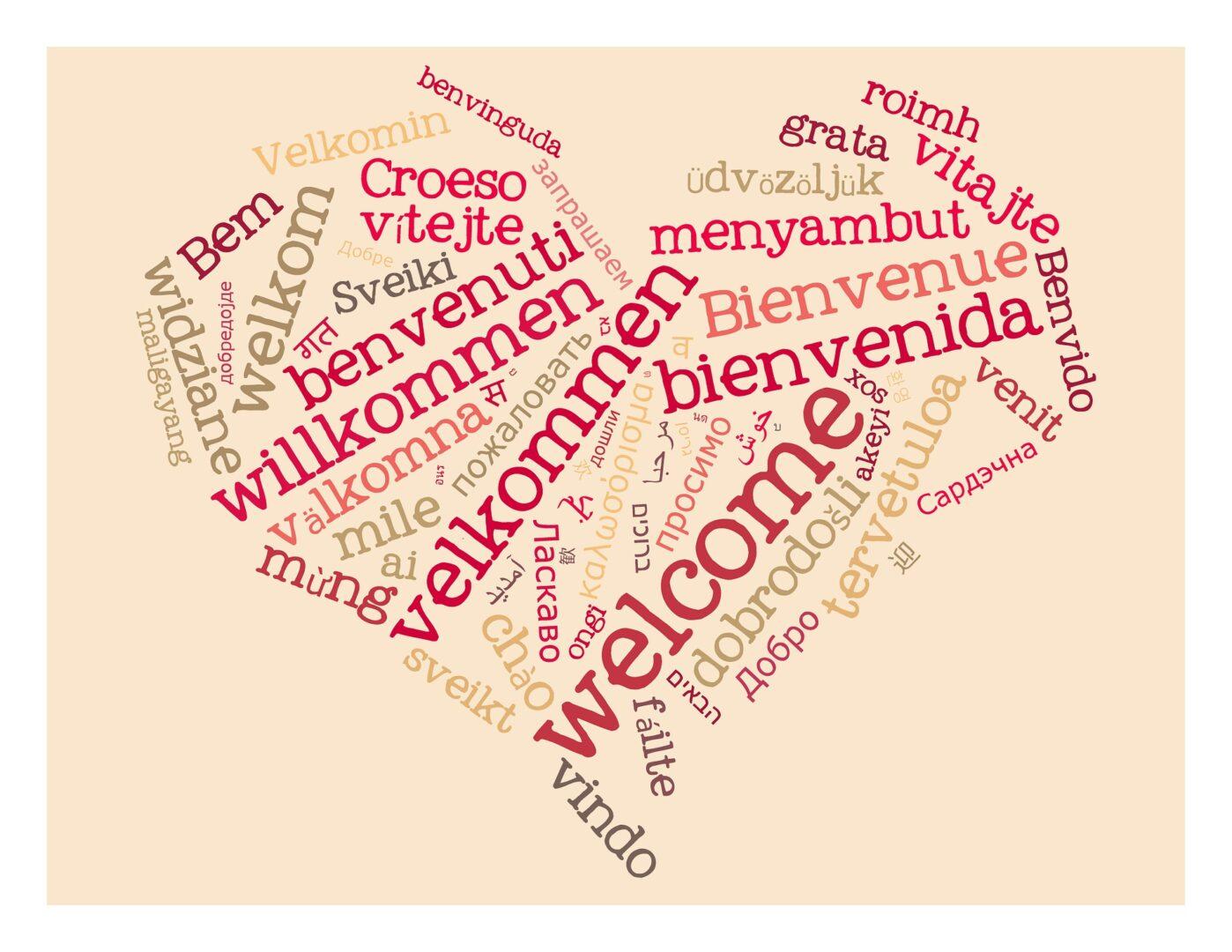Tujci v Sloveniji bi se lahko v slovenskem jeziku naučili vsaj pozdraviti.