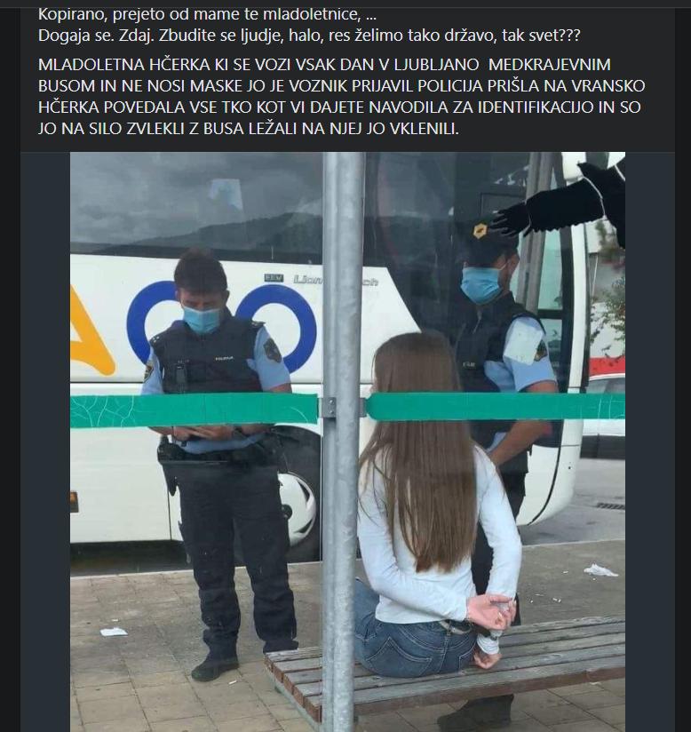 Fotografija, ki je preplavila družbena omrežja in požela ogromno zgražanja in zelo malo dvomov o celotni zgodbi.