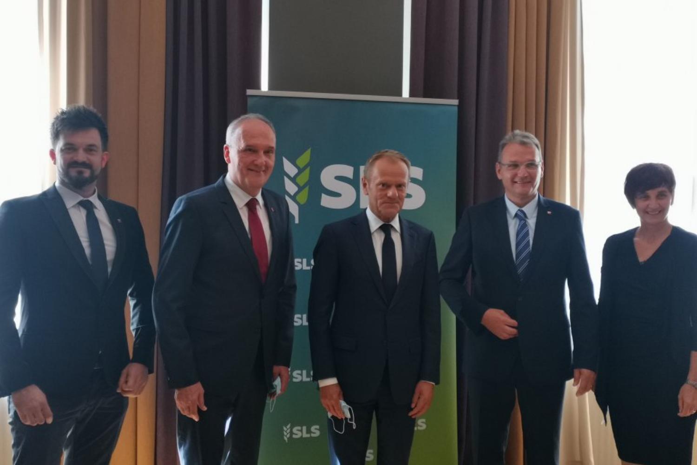 Povežimo Slovenijo in vstopimo v vlado