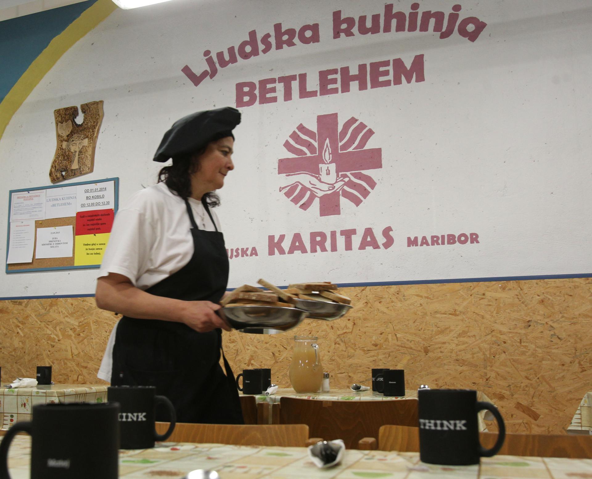 Karitas, neprofitna organizacija, ki blaži stiske mnogih Slovencev