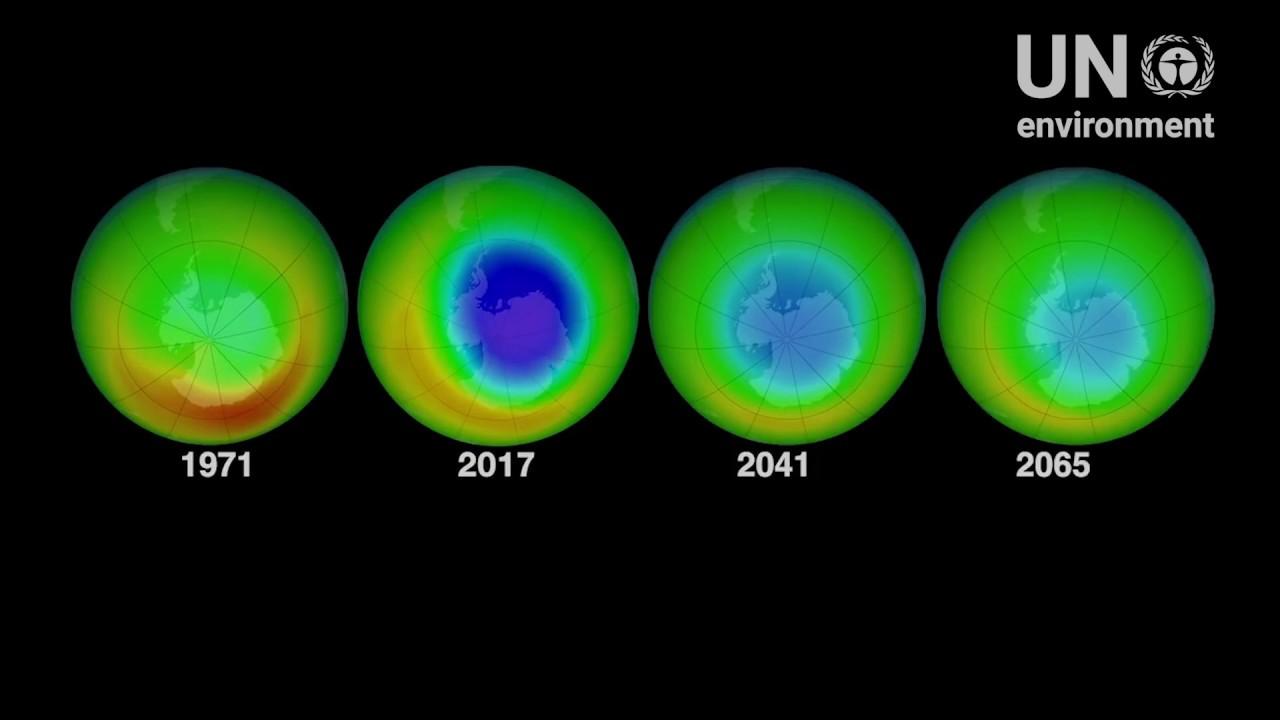 Ozon je zelo pomemben za zaščito Zemlje.