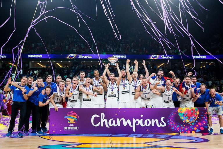 Da ima slovenski šport kar nekaj prestižnih košarkarjev so dokazali le-ti na evropskem prvenstvu in osvojili zlato.