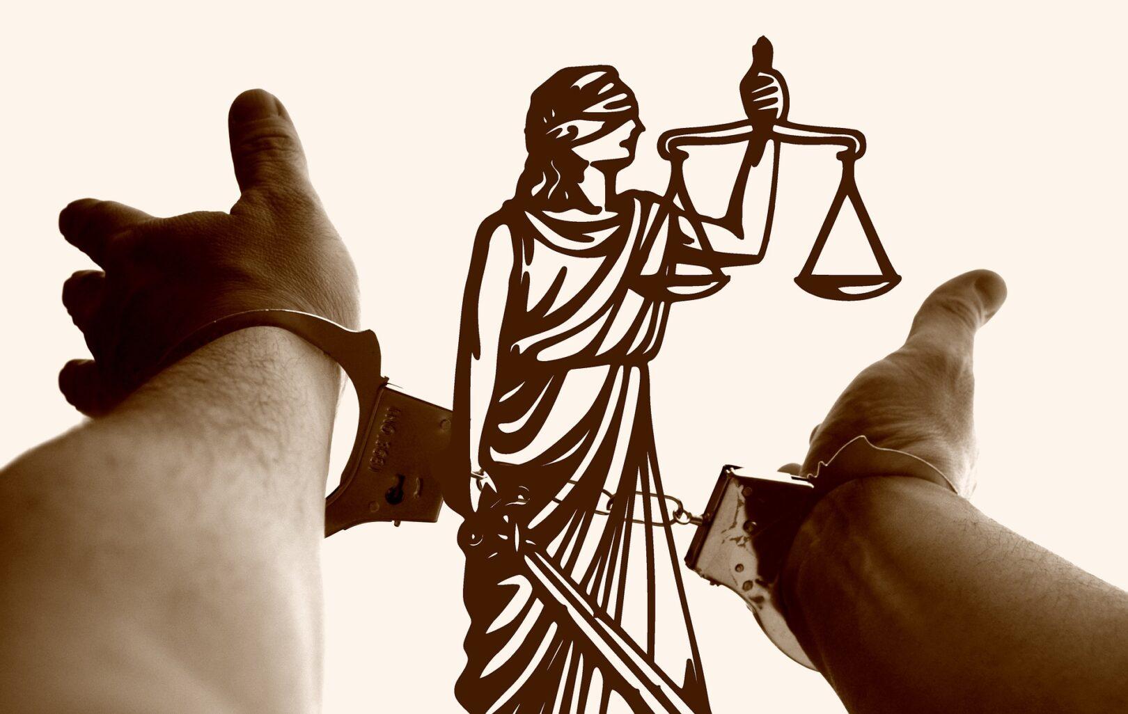 Kazen za kakšen prekršek je včasih pretirana. Pravica je očitno res slepa.