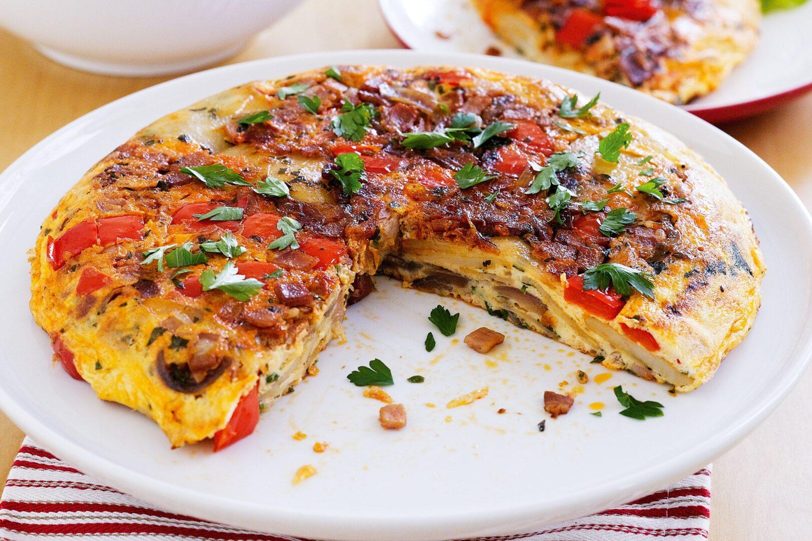 Španska omleta.