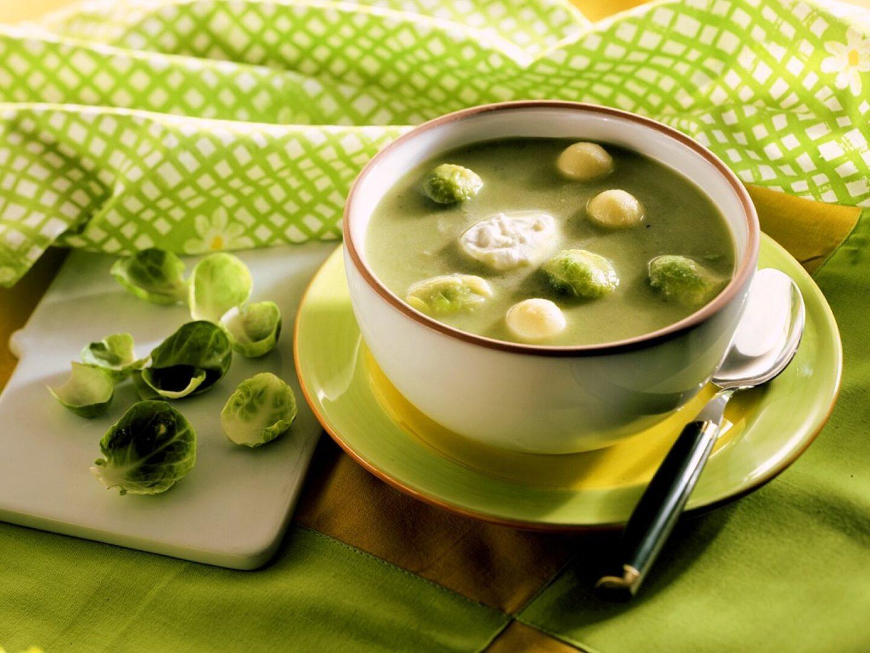 Ohrovtova juha.