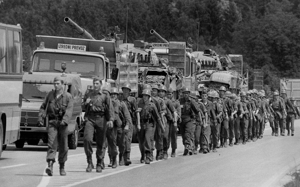 Jugoslovanska vojska je bila četrta najmočnejša v Evropi.