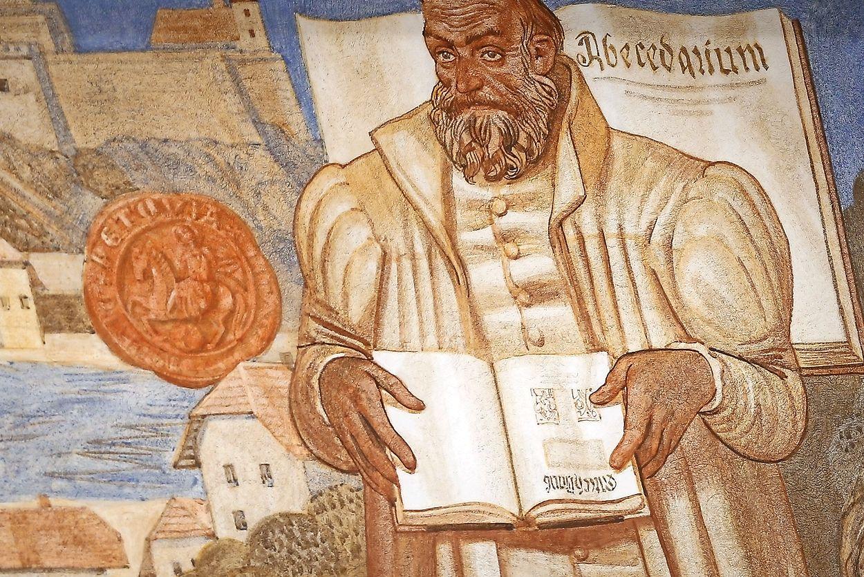 Primož Trubar je bil velik človek, ki se je boril za slovenski narod.