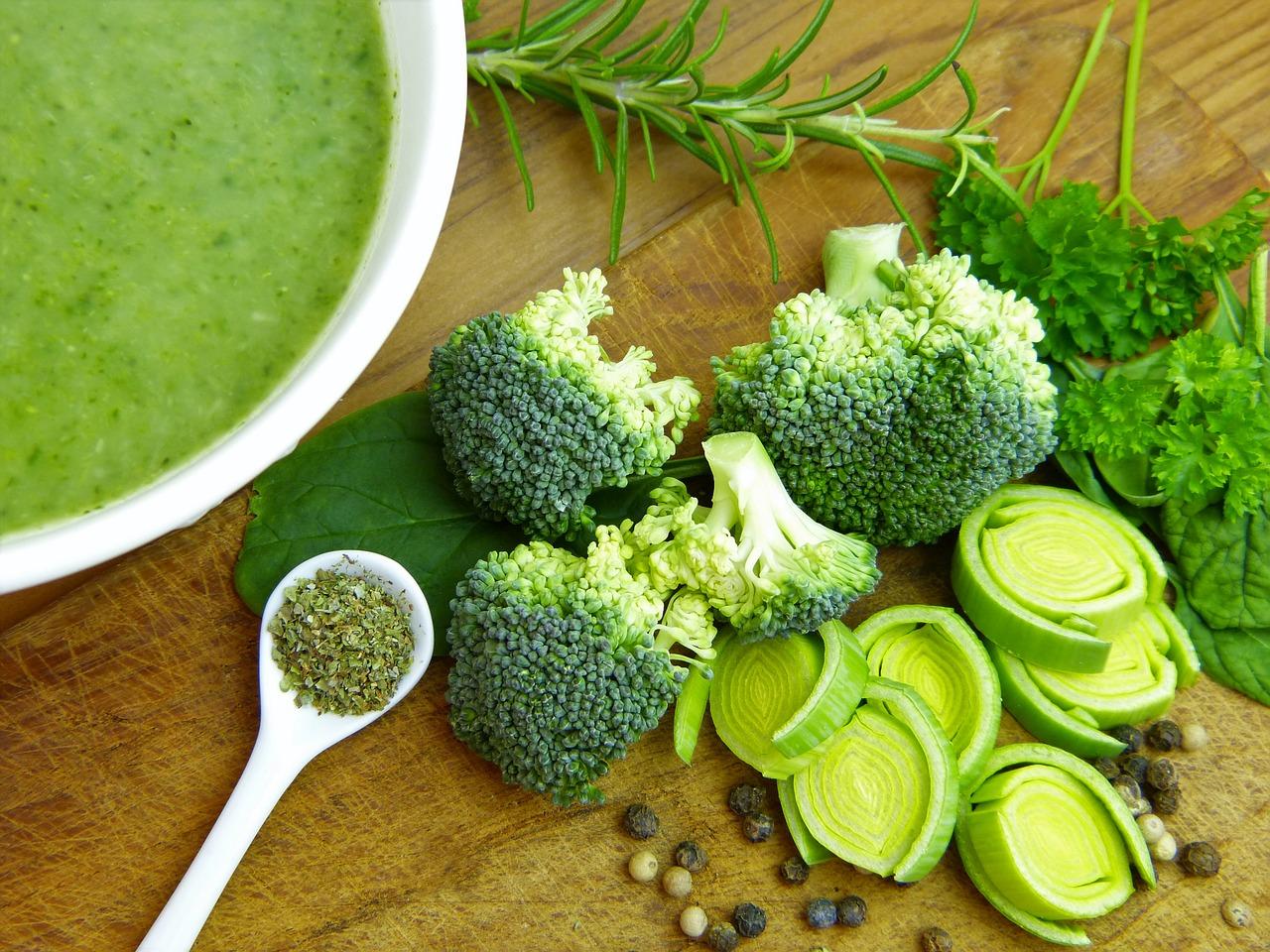Zelene juhe so polne antioksidantov.