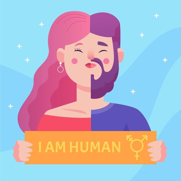 Vsi smo ljudje, a spolna identiteta določa to, da smo ljudje.
