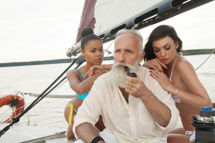 Zakaj imajo mlada dekleta raje starejše moške?