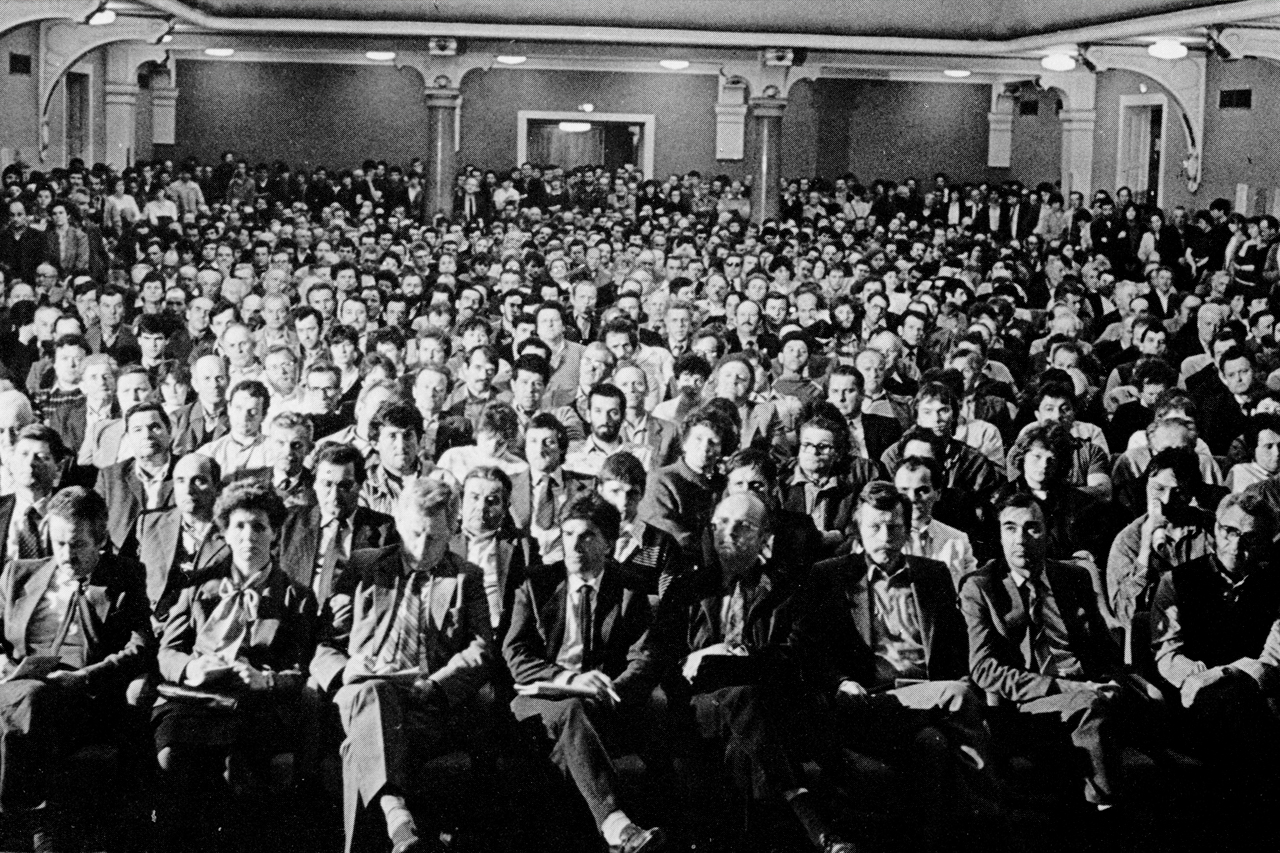 """Marjan Podobnik: """"Nadaljevali bomo tam in tako, kot smo začeli 12. maja 1988 v Unionski dvorani"""""""