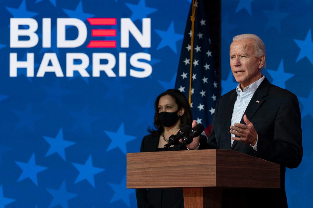 Joe Biden je takoj, ko je bil seznanjen s svojo zmago začel poudarjati, da je čas, da se umirimo in opustimo ostro retoriko. Glede na njegove militantne zahteve po bombardiranju Zvezne republike Jugoslavije, se lahko vprašamo ali ni Biden eden izmed tistih politikov, ki sicer govorijo umirjeno, v praksi pa so povzročitelji nemirov in spopadov.