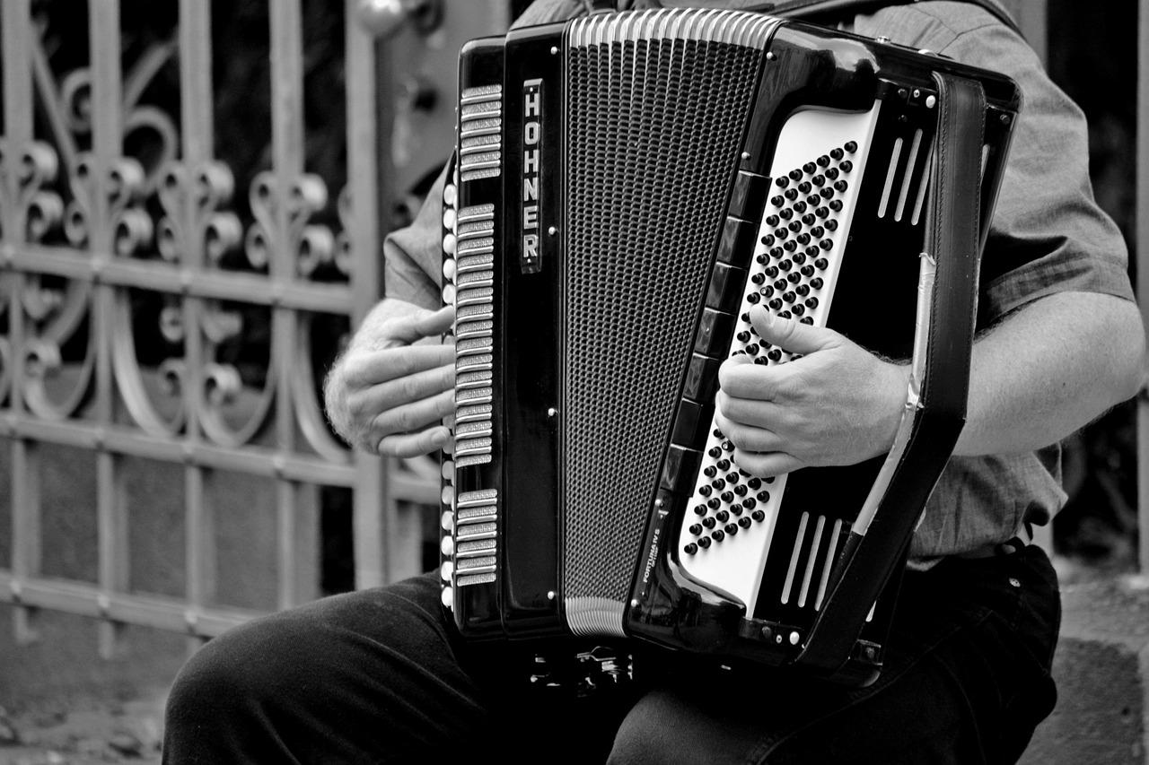 Diatonična harmonika omogoča hitro igranje.