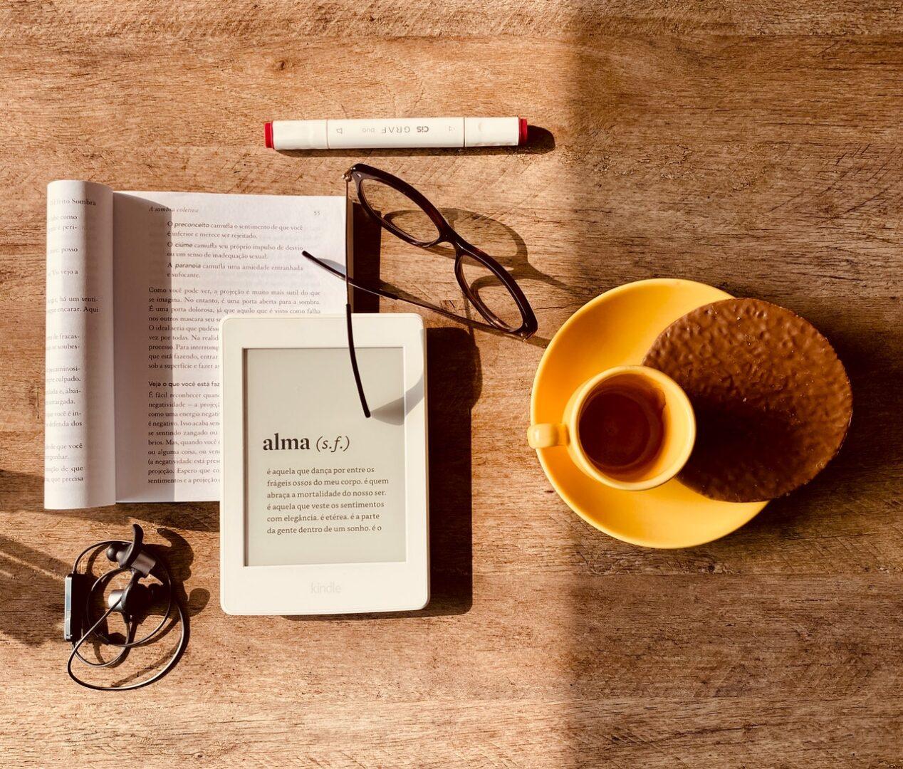 E-knjige so boljše za zdravje oči.
