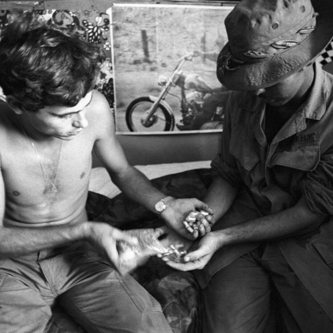 Ameriški vojaki so v vietnamski vojni uporabljali konopljo, LSD, heroin in druge droge.
