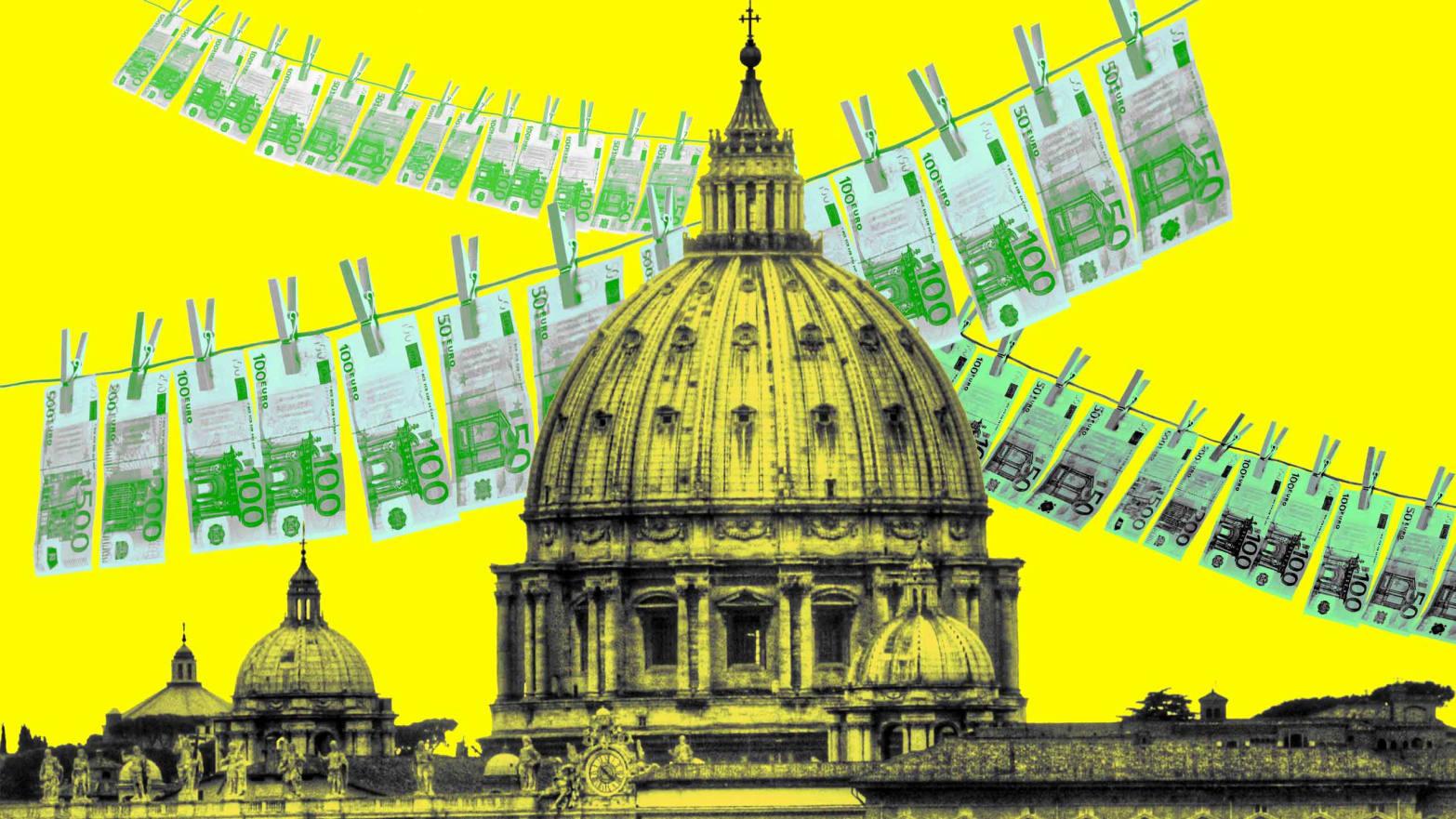 Ugled Cerkve lahko stoji in pade na odnosu do denarja