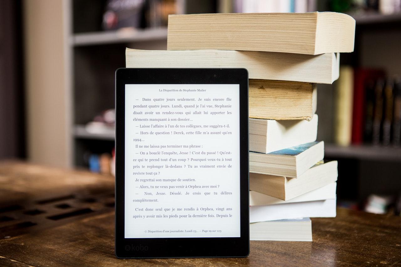 Deset prednosti e-knjige pred tiskano knjigo